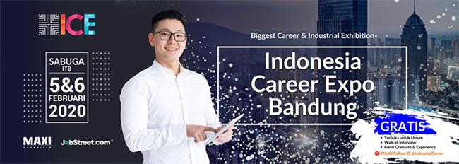 Hadiri Indonesia Career Expo Bandung