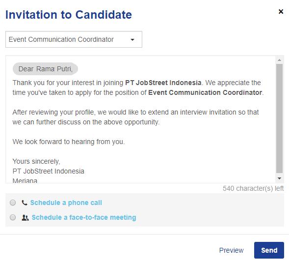 Interview invites jobstreet employer id panel interview invites thumb2 stopboris Choice Image