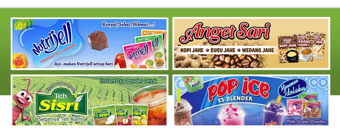 in dustri Consumer Goods , dengan produk-produk: Pop Ice, Nutrijell